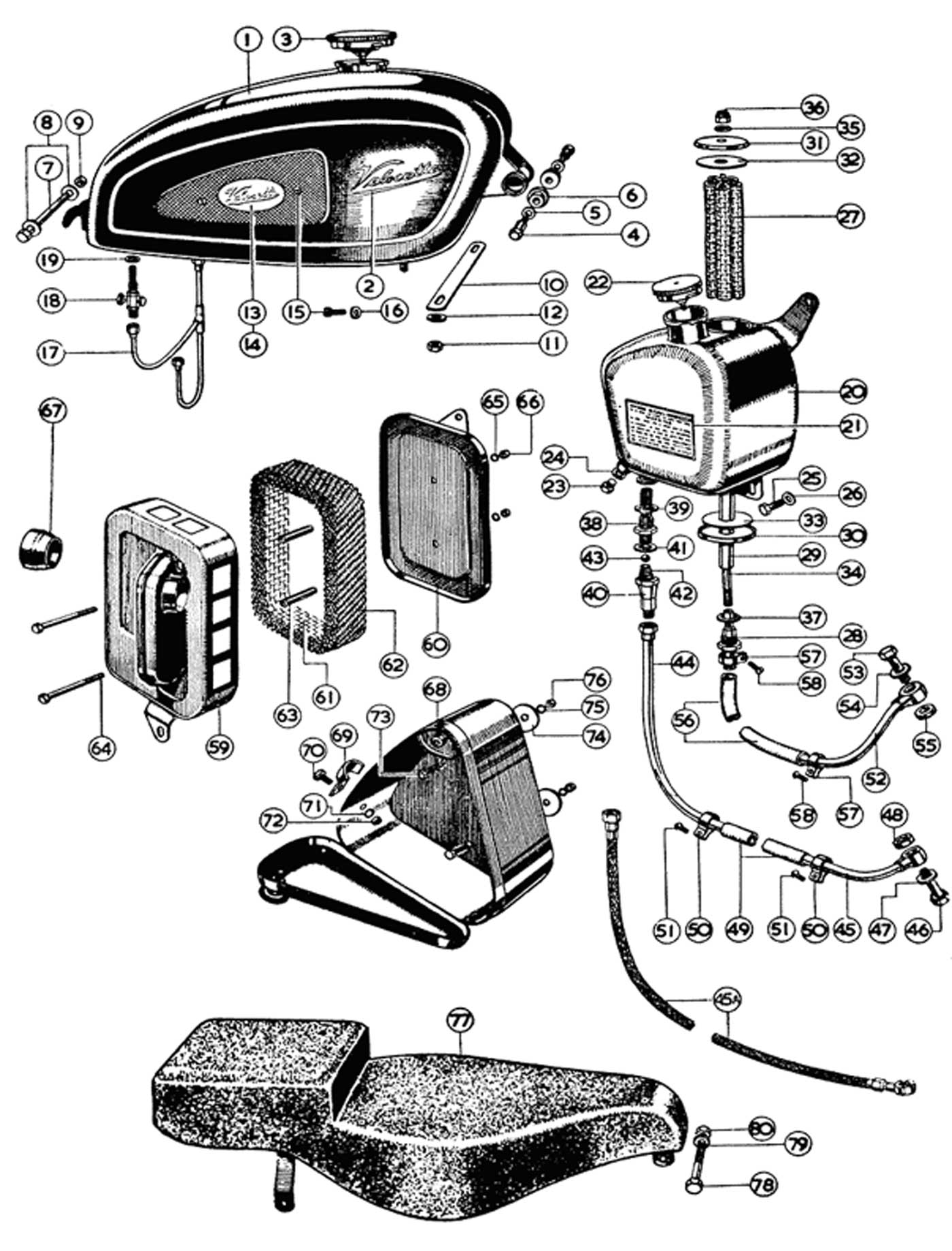 Velocette Le Wiring Diagram