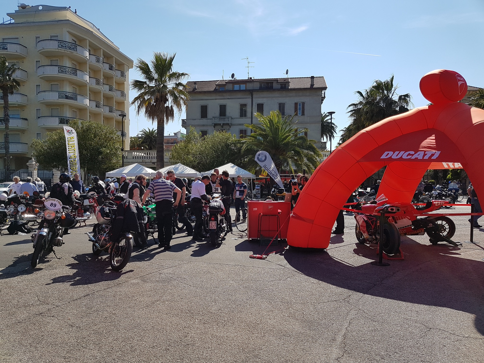 Moto Giro D'Italia 2017 - Velocette on Tour