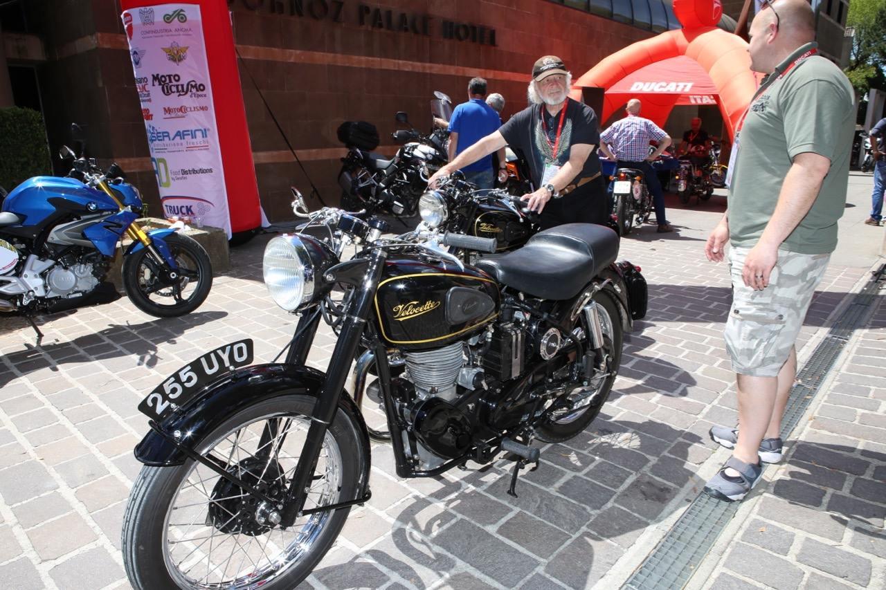 Moto Giro D'Italia - Velocette on Tour
